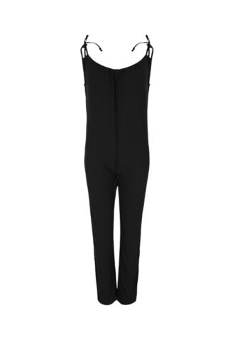 אוברול מכנס ארוך- שחור