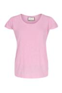 חולצת בייסיק- גב חשוף- ורוד