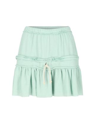 חצאית מיני- ירוקה