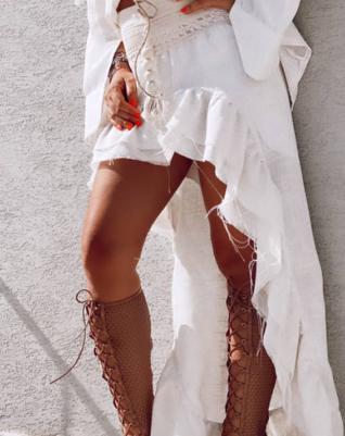 חצאית מיני מקסי בוהו