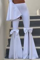 Clio - white set - centropose pants