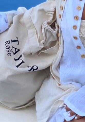 Taylor Rose Sack Bag - Small