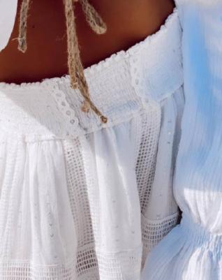 חצאית ברבי- לבנה