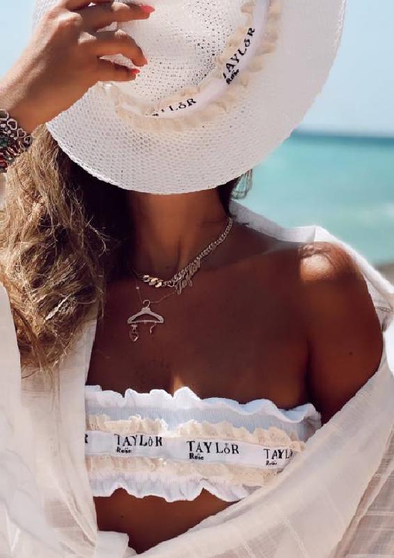 טיילור וינטאז לבן כובע1