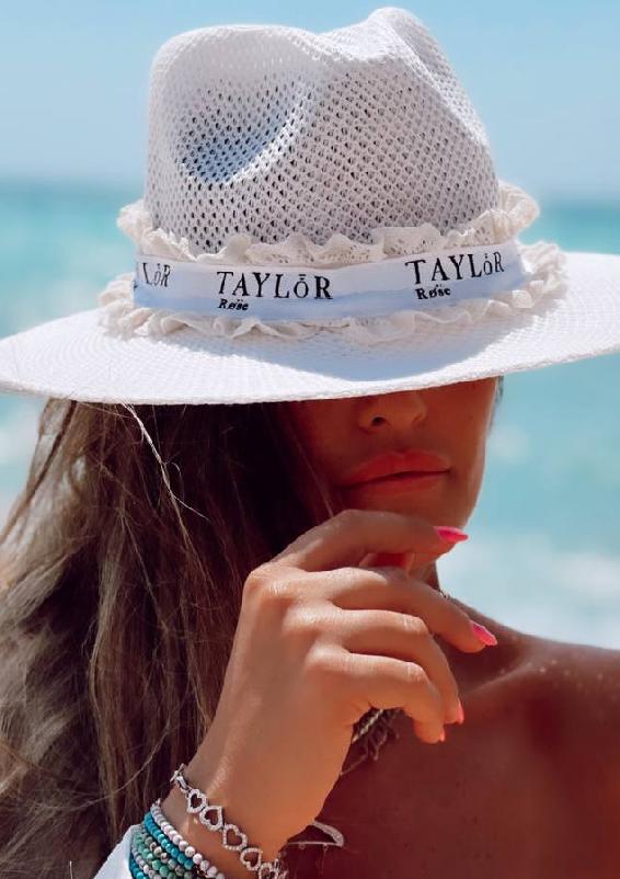 טיילור וינטאז לבן כובע3