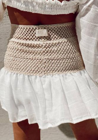 טיילור לוק לבן- חצאית