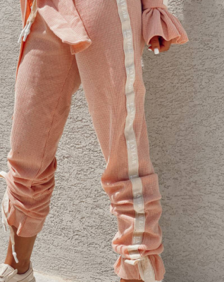 Vintage Peach Waffle - Pants